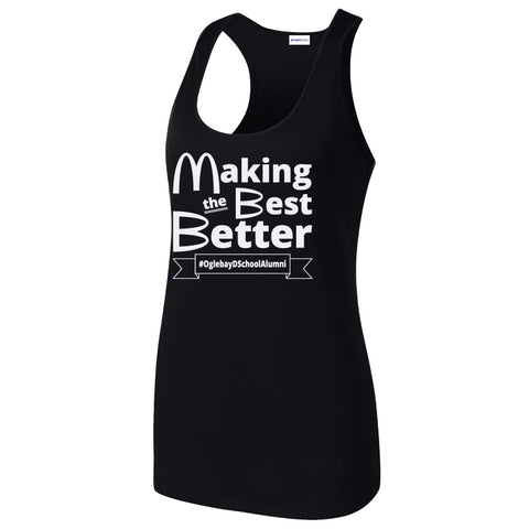 NRPA Oglebay Making the Best Better - Ladies Racerback Tank (LST356)