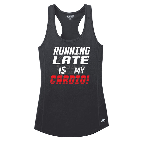 Runteez - Running Late Is My Cardio Womens Tank (Phoenix 10K)