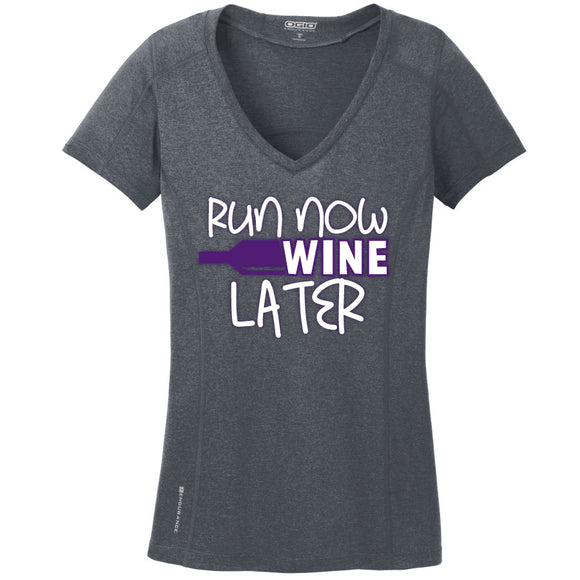 Runteez - Run Now Wine Later Womens Tee (Phoenix 10K)