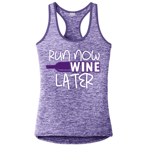 Runteez - Run Now Wine Later Womens Tank Top (Phoenix 10K)