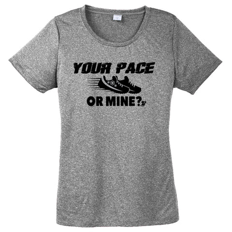 Runteez - Your Pace or Mine? Womens Tee (Phoenix 10K)
