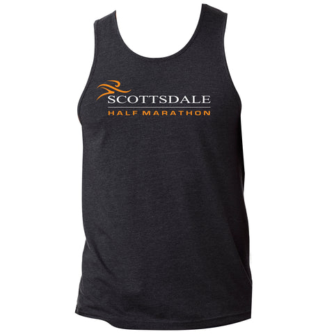 Scottsdale Half Marathon Mens Muscle Tank Top