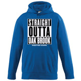 NRPA Straight Outta Oak Brook - Wicking Fleece Hooded Sweatshirt (Augusta 5505) (No Year)