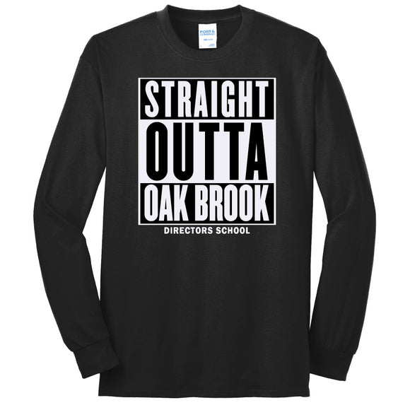 NRPA Straight Outta Oak Brook - Long Sleeve Core Blend Tee (PC55LS) (No Year)