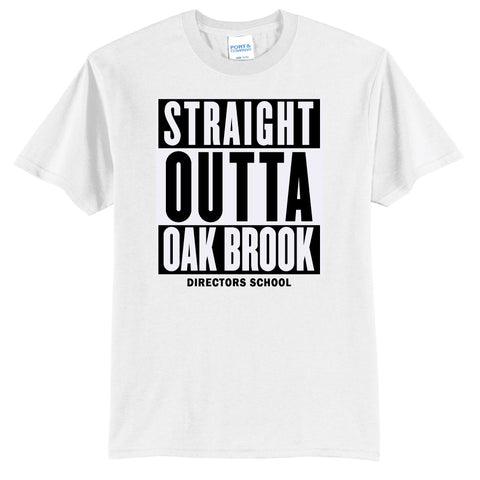 NRPA Straight Outta Oak Brook - Core Blend Tee (PC55) (No Year)