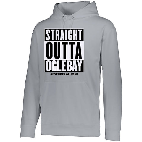 NRPA Straight Outta Oglebay - Wicking Fleece Hooded Sweatshirt (Augusta 5505)