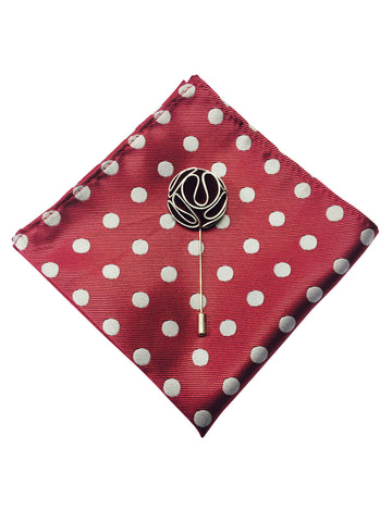 Pocket Square + Lapel Pin - COMBO SET - Resso Roth