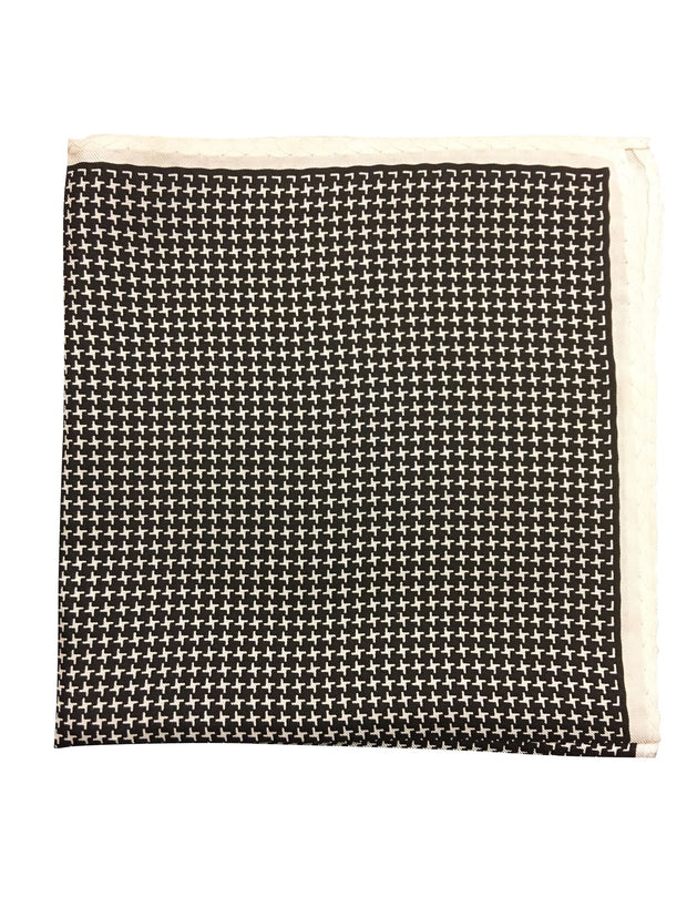 Houndstooth Pocket Square - Resso Roth