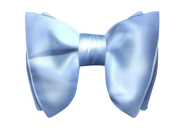 White Evening Bow Tie - The Butterfly
