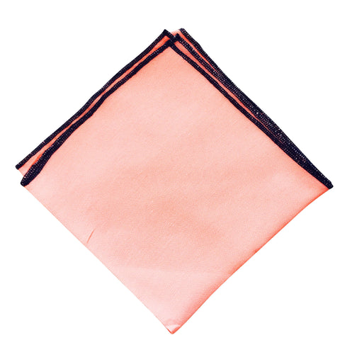 Blush Blue Lip Pocket Square - Resso Roth