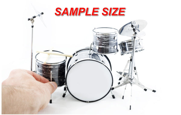 Not a Playable Drumset - Click to Enlarge Image