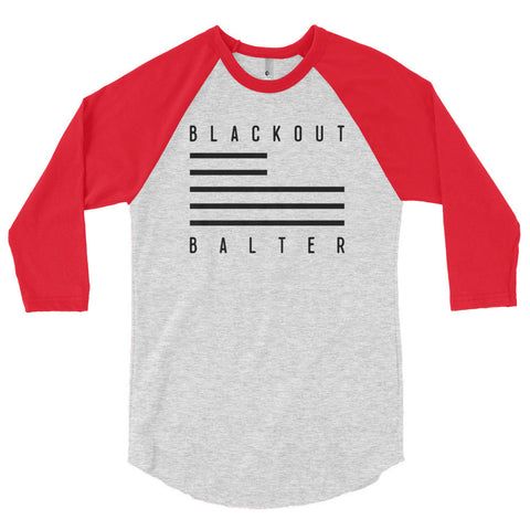 Baseball Shirt (Red/Gray Shirt + Flag Logo)