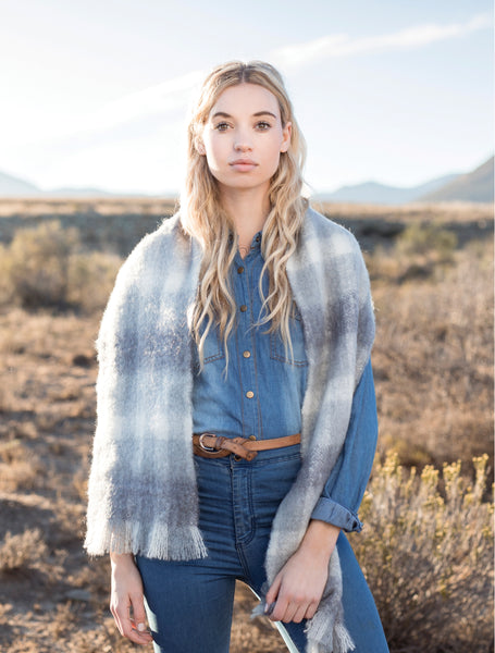 South African Luxury Mohair Wool Scarves