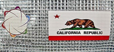 The GOLF POUCH, CALIFORNIA FLAG - My Greater Shop