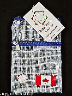 The GOLF POUCH, CANADIAN FLAG - My Greater Shop