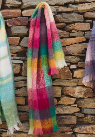 MOHAIR WOOL THROW by Hinterveld. BEAUTIFUL STORY- GREAT EXPECTATIONS. S.Africa - My Greater Shop