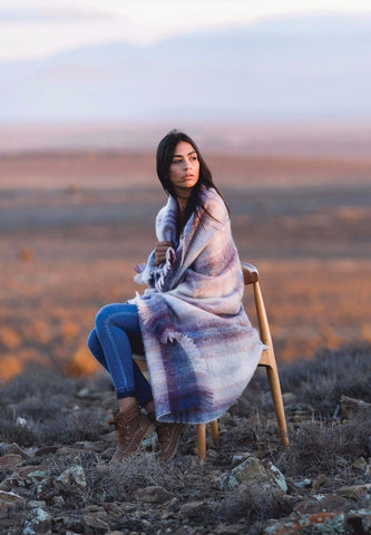 MOHAIR WOOL THROW by Hinterveld. BEAUTIFUL STORY- THE LULLABY - My Greater Shop