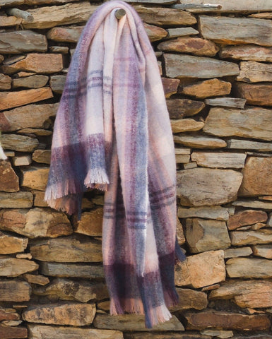 MOHAIR WOOL THROW by Hinterveld. BEAUTIFUL STORY- THE LULLABY. South African. - My Greater Shop