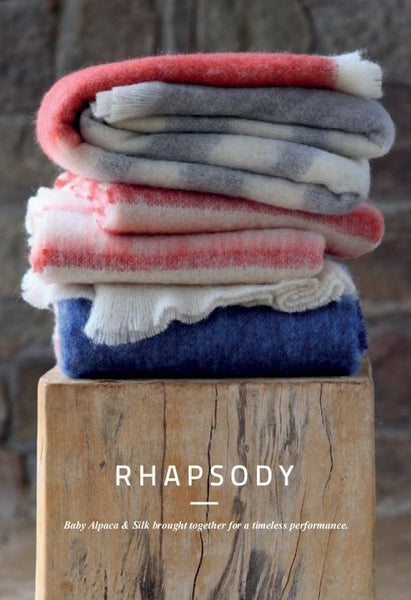 Hinterveld ALPACA & SILK THROW. Rhapsody Clarion. Hand Woven in South Africa! - My Greater Shop