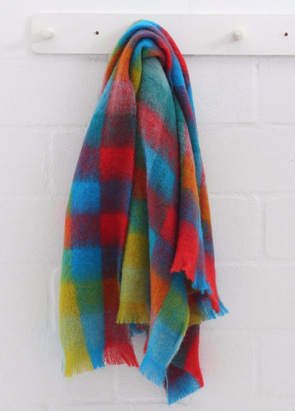 "MOHAIR WOOL THROW by Hinterveld. BEAUTIFUL STORY- ""GET LUCKY"" - My Greater Shop"