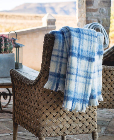 "Hinterveld ALPACA & SILK THROW. Rhapsody ""Sonata"". Hand Woven in South Africa! - My Greater Shop"