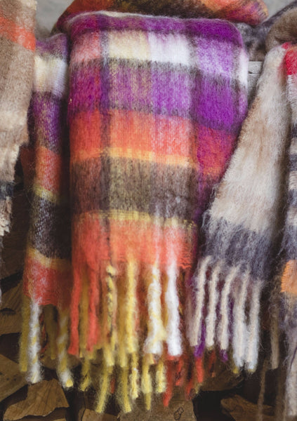 "Luxurious Hinterveld AFRICA BLANKET ""ILANGA "" Design. Genuine South Africa Mohair & Wool! - My Greater Shop"