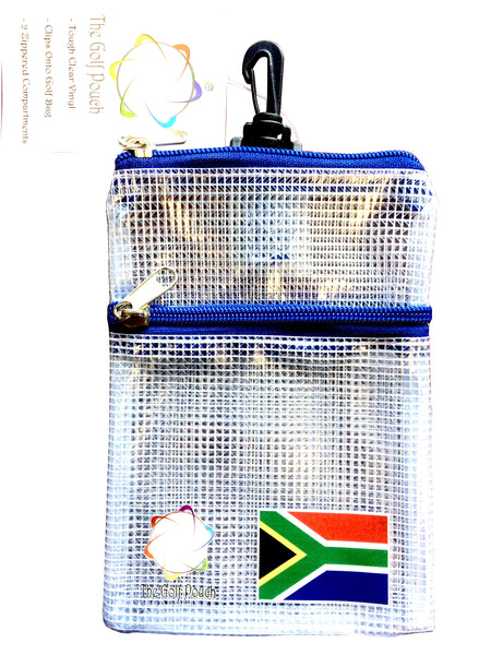 The Golf Pouch, South African Flag - My Greater Shop