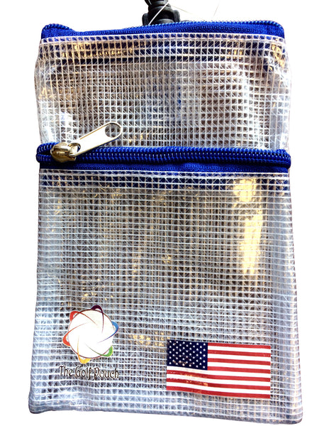 The Golf Pouch USA Flag thegolfpouch.com