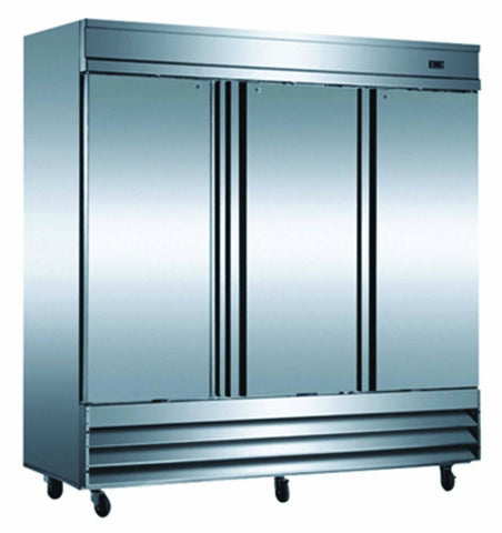 Saba Air Commercial 3 Door Reach-In Refrigerator ST-72R - AB Restaurant Equipment