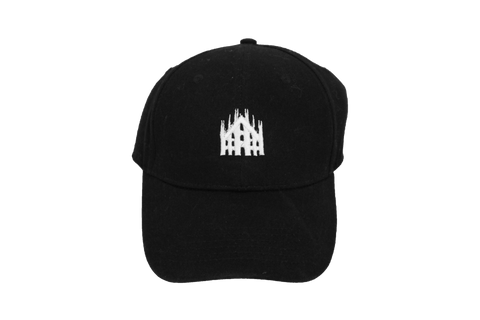 Black Cap | Cathedral Embroidered Logo