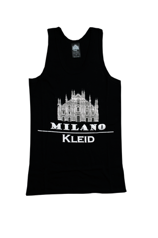 Black & White Tanktop | Cathedral Logo