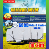 Aussie Covers 18'-20' 600d Caravan Cover (OUT OF STOCK UNTIL EARLY FEBUARY)