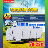 Aussie Covers 20'-22' 600d Caravan Cover OUT OF STOCK AROUND EARLY FEB PRE ORDER