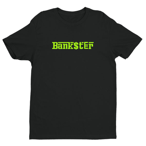 Lime Green BANK$T€R t-shirt