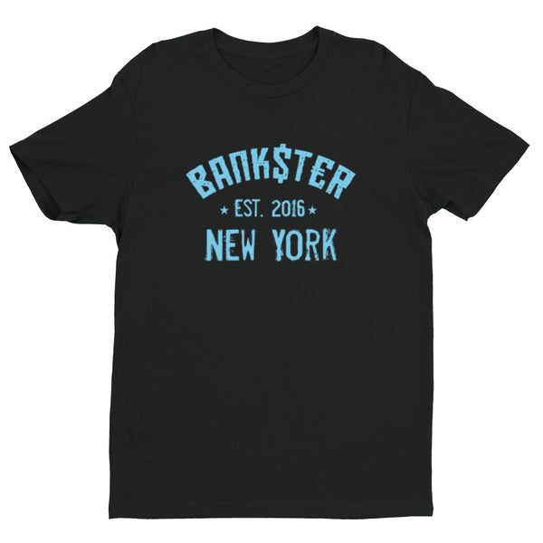 The BANK$T€R Classic New York  T-Shirt (Blue)