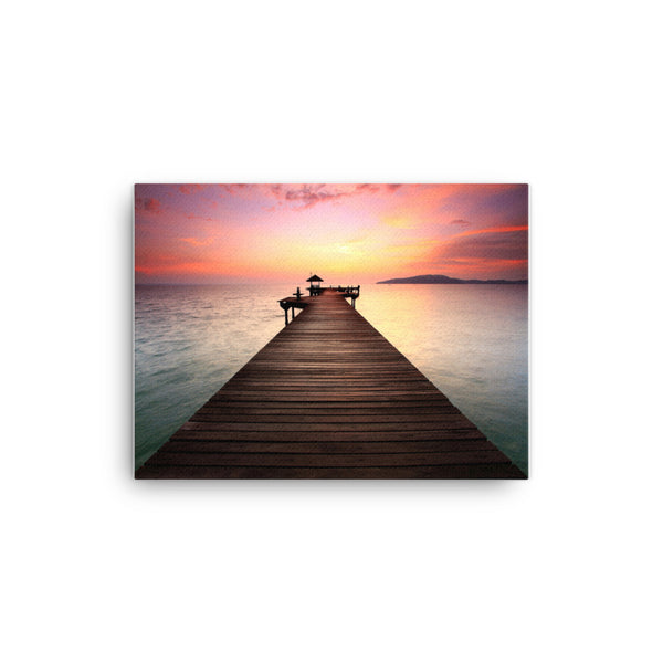 Long Piers Canvas
