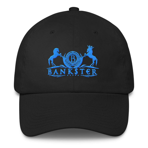 Classic BANK$T€R Dad Hat (Blu Edition)