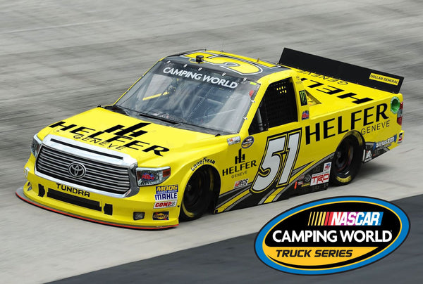 Helfer partners with Nascar team Mc Alenik