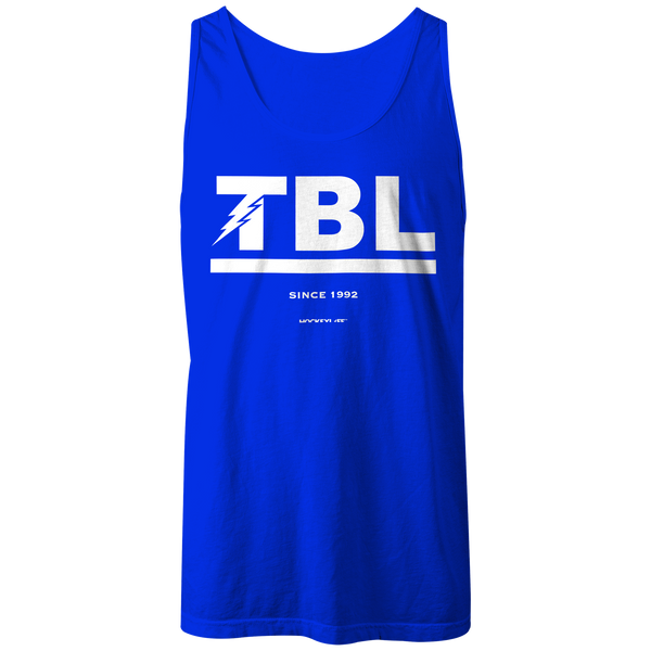 tampa bay lightning jersey stripes tank top samrich sports clothing inc samrich sports clothing inc