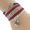 Image of New England Patriots Bracelets