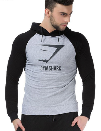 GymShark Fitness Hoodies Sweatshirts Men's Sportswear