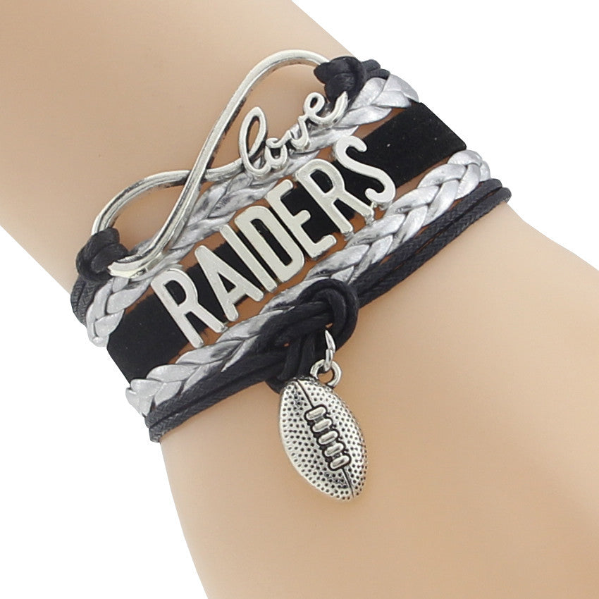 Oakland Raiders Bracelets