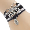 Image of Oakland Raiders Bracelets