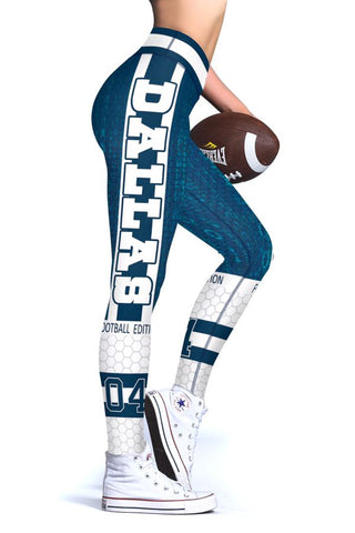 Dallas (HQ) New Design 2017 Sports Leggings