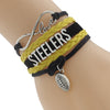 Image of Pittsburgh Steelers Bracelets