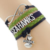 Image of Seattle Seahawks Bracelets