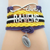 Image of Baltimore Ravens Bracelets