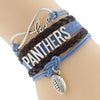 Image of Carolina Panthers Bracelets