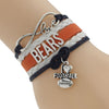 Image of Chicago Bears Bracelets