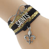 Image of New Orleans Saints Bracelets